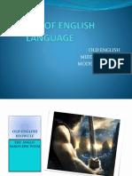 History of English Language