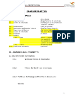Plan Operativo UA Jorge CEDED