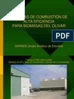 Tecnologia Combustion de Biomasa del Olivar