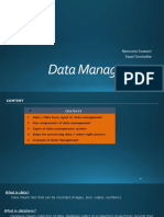 Data Management PPT