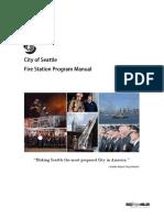 City Seattle Fire Station Program Manual