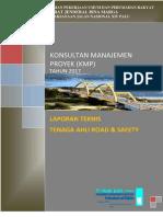 Laporan Teknis Tenaga Ahli Road & Safety
