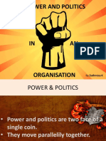 Power & Politics in Organisation