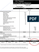 Taxpayer Credit Card Statement Social Media