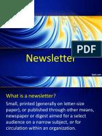 Newsletter PUB