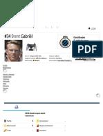 Brent Gabriël - Profilo Giocatore 18_19 _ Transfermarkt