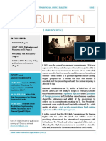 TJ Bulletin - January 2016 - SACLS
