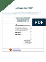 Manual de Instrucciones PIONEER PL 990 S 1