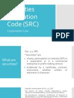Securities Regulation Code (SRC) - Report.pptx