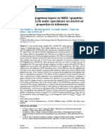 Effects of Graphene Layers in IGZO Graphite-like NiSiO2Si Wafer Specimens on Electrical and Optical Properties in Tribotests