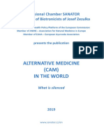Alternative Medicine (CAM) in the World - What is silenced