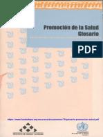 Glosario Promoción de La Salud_OMS