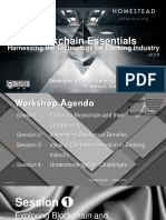Blockchain Essentials - Harnessing the Technology for Banking Industry