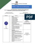 Convocatoria a Becas Nacionales 2018 2019 (1)