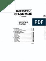Manual Daihatsu Charade 1.3 - Seção 2