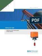 Continius level measurment of bulk material.pdf