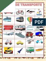 Meios de Transporte Aulas Particulares Dicionario Ilustrado