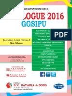 Ggsipu Catalogue