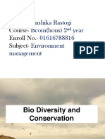 Pp Biodiversity and Conservation