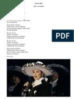 CIELITO LINDO Ana Gabriel Letras