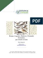 3. Borges, Lugones, Hudson y Fernando Sorrentino, que instaló el tema - Spagnuolo, Marta.pdf