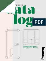 Framery Product Catalog en 2019