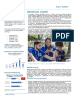 UNHCR Factsheet Mexico - April 2019