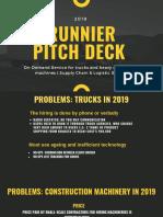 Runnier Pitch Deck