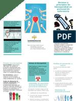 folleto bioseguridad