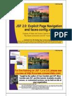 JSF2 Page Navigation