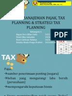 manajemen pajak, tax planning, dan strategi tax planning