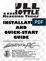 Full Throttle Reaction Timer