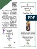2019 22 May Paschal Vespers Mid Pentecost