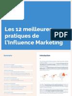Meilleures Pratiques de l'Influence Marketing