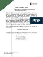 Notificacion Por Aviso Dt Casanare Resolucion 013 Julio Roberto Cely Puerto