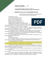 INSTRUÇÃO NORMATIVA Nº 98, DE 19 DE DEZEMBRO DE 2018 - Diário Oficial da União -