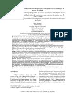 A proposta de um quadro norteador de pesquisa como exercício de construção do objeto de estudo