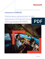 IATA Guidance Performance Assessment of Pilot Response to EGPWS