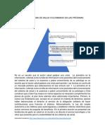 El Sistema de Salud Colombiano en Las Próximas Décadas