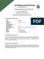 Programa de Clase - Analisis Estructural I.doc