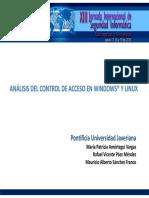 Articulo1AnalisisdelcontroldeaccesoenWindowsyLinux