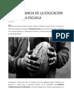 Sesion 27-11-18- De Educacion Fisica y Arte