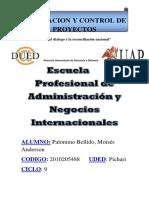 Trabajo de Evaluacion y Control de Proyectos