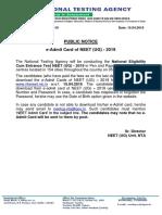 PublicNoticeForAdmitCardNEET.pdf