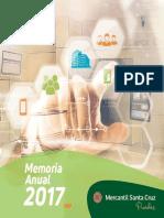 Memoria Banco Mercantil Santa Cruz S.A 2017.PDF