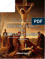 Análisis Crítico Del Judeocristianismo 2da Edición