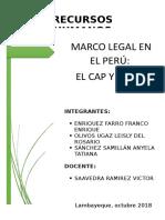 SEMANA 10 - MARCO LEGAL EN EL PERÚ - CAP Y PAP.docx