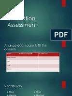 Elimination Assessment.pptx
