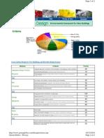 Green Globes Criteria