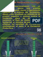Definición de Perforación Con Flujo Controlado